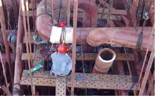 电厂管道热处理